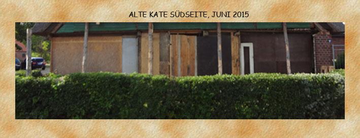 Kollage Fachwerk Südseite,  Juni2015